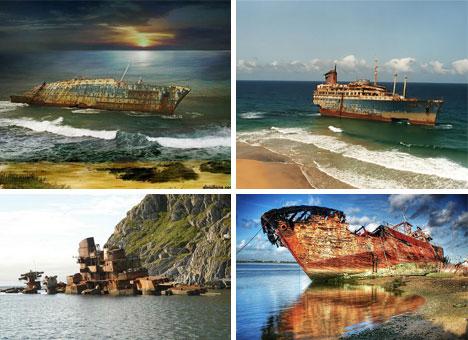 Abandoned Ship and Boat