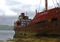 Abandoned Ship Vehicle Photo