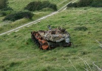 Abandoned Tank Vehicle Photo