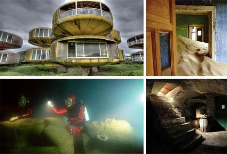 24 Pueblos Fantasma y Ciudades Abandonadas