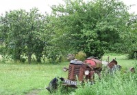 Abandoned Tractor Vehicle Photo