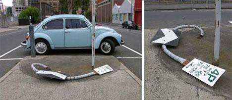 robbie rowlands street sign deconstruction art