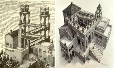 Building Puzzles 15 Awesome Architectural Optical