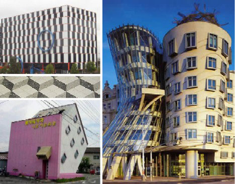 15 Awesome Architectural Optical Illusions | Wonders of the World