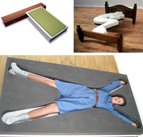 Lectus bed / Foetal bed / Hold Me bed