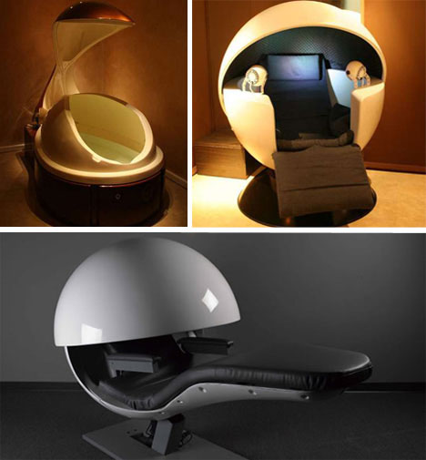 Napping Pods montage