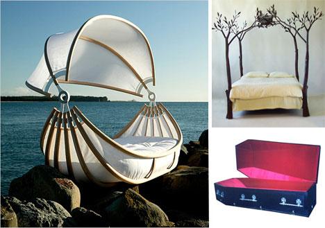 Okooko Bed / Tree Bed / Casket Bed