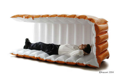 Nappak inflatable napping bed