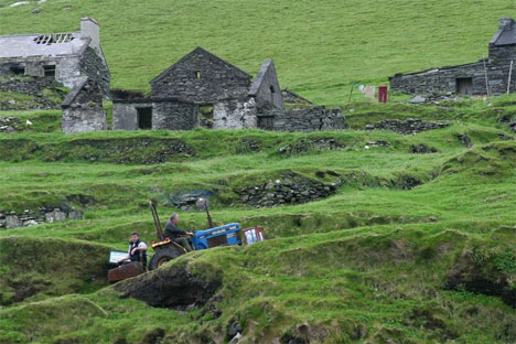 ghost town great blasket island ireland