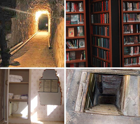 10 historical secret rooms mysterious hidden passages