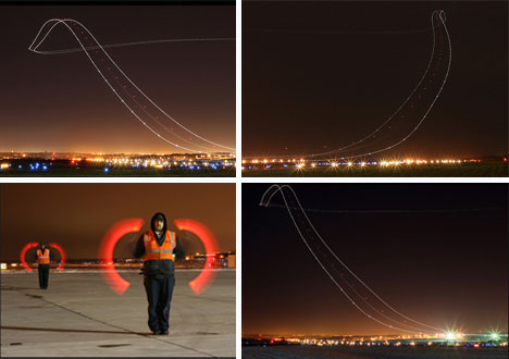 long exposure photography kris klop airport