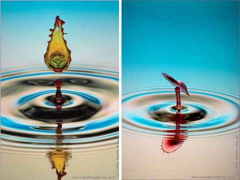 martin waugh liquid sculpture