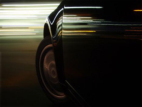 motion blur photograph car mount lights