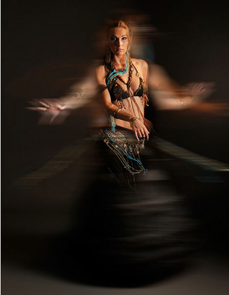 motion blur photography dancer