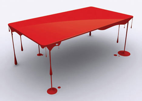 16 creative modern tables and crazy table designs urbanist for Creative design table