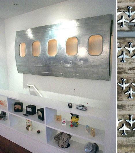 Airplane Parts Home Decor