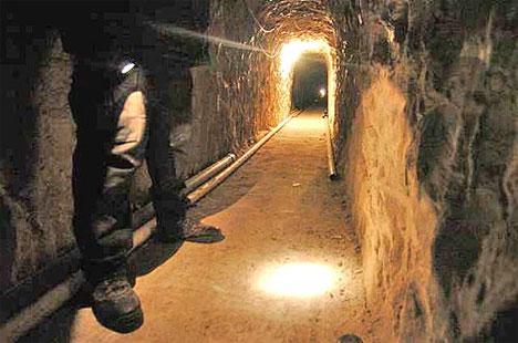 secret passage mexico tunnel
