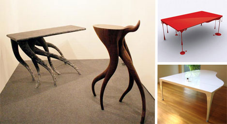 Funky Tables funky furnitures: 142 creative modern furniture designs | urbanist