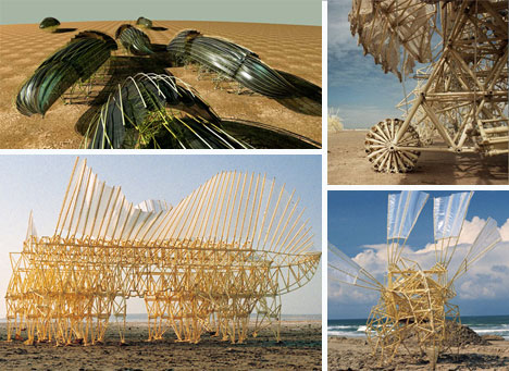 Theo Jansen's kinetic sculptures