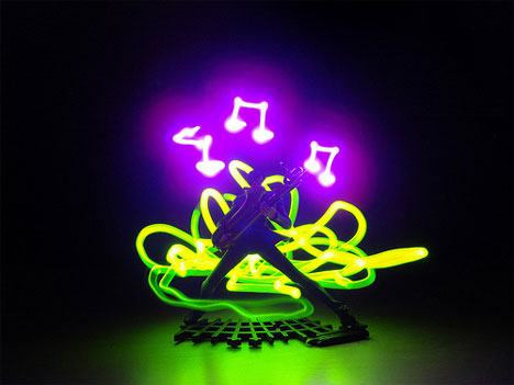 time lapse light photography