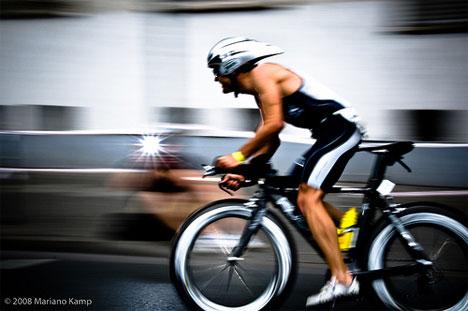 time lapse motion blur ironman