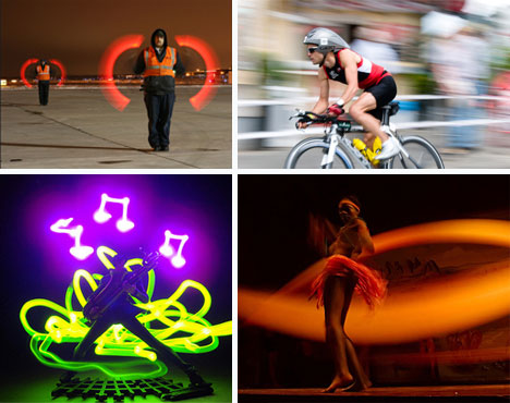 time lapse motion blur photography