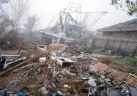 Chris Jordan - In Katrina's Wake - grounded boat