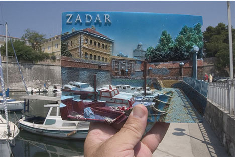 Michael Hughes Souvenirs Zadar Croatia Harbor