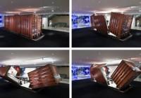 Transforming Cargo Container Home Module