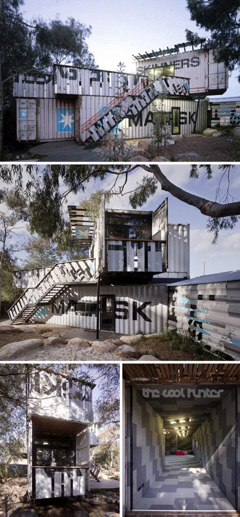Creative Shipping Container Playground Design. via WebUrbanist.