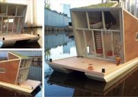 Prefab Modern House Boat Design
