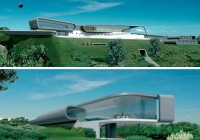 High Tech Luxury Green Resort
