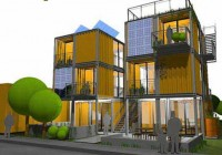 Modular Cargo Container Housing Designs