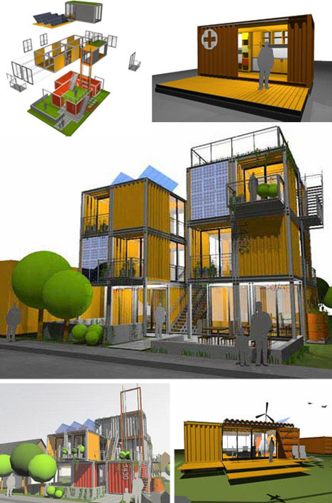 Modular cargo container housing designs urbanist - Container homes seattle ...