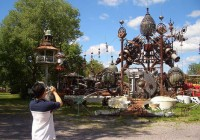 Amazing Recycled Metal Sculpture Park