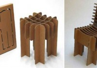 Flat Pack Cardboard Furniture