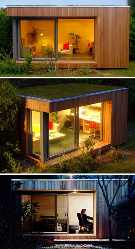 Ecospace green garden prefab studio urbanist for Garden design studio
