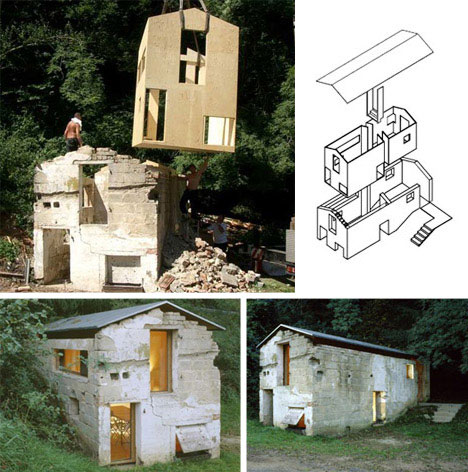 Pig Sty Building into House Conversion