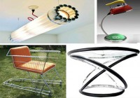 Creative Recycled Material Furniture Designs