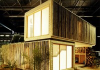 Wooden Cargo Container Prefab