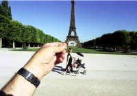 Michael Hughes Eiffel Tower souvenir photograph