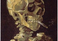 Chris Jordan - Skull with Cigarettes