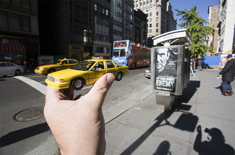 Michael Hughes New York Taxi Souvenir photograph