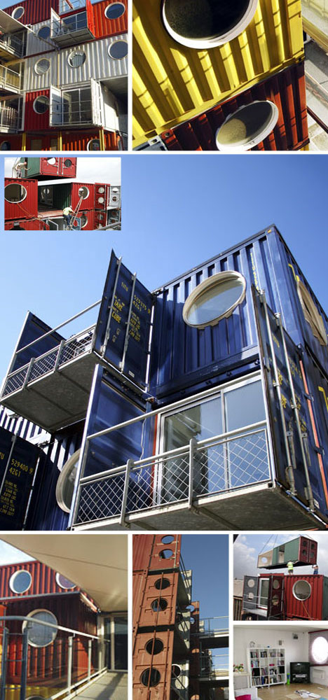 Container City Modular Mixed Use Buildings