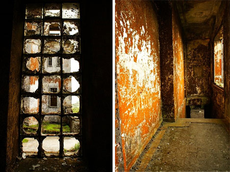 abandoned bokor hill interior