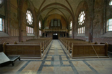 abandoned church sweden