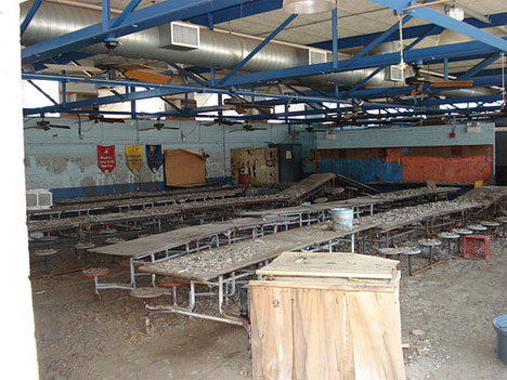 abandoned jean gordon elementary school