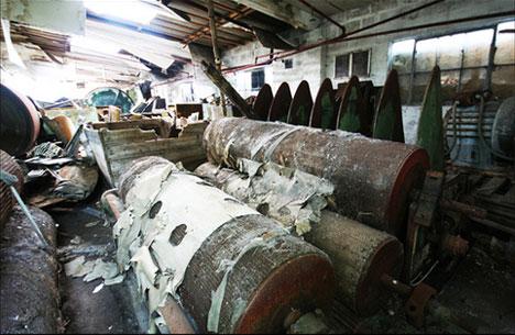 abandoned jute mill angus