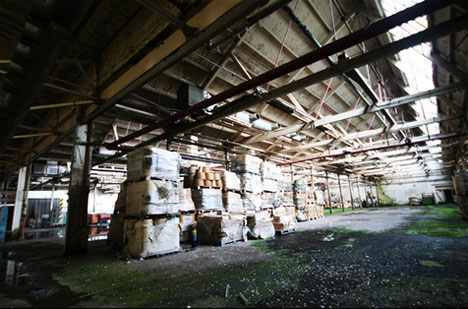 abandoned jute mill angus