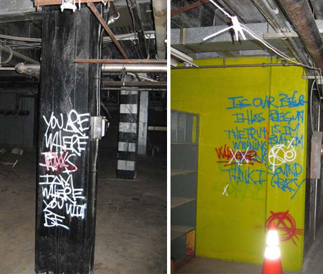 abandoned linda vista hospital graffiti